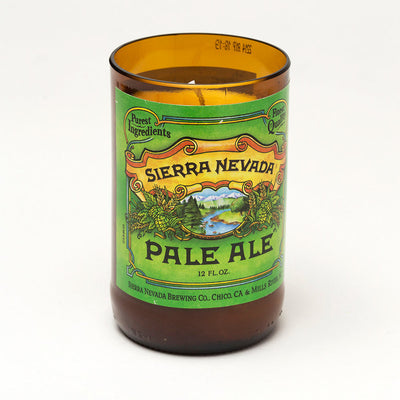 Sierra Nevada Beer Bottle Candle