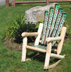 Snow Ski Log Rocker (Green)