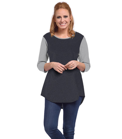 Snowdrop Eco-Friendly Top - Charcoal