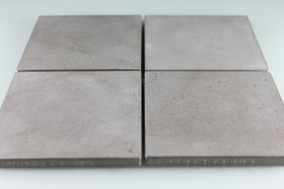 Square Embossed Recycled Concrete Coasters