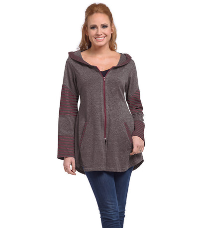 Stargazer Ladies Cardigan - Earth