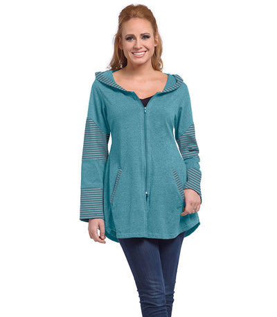 Stargazer Ladies Cardigan - Tide