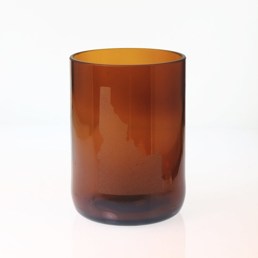 Brown Custom State Glass - Short