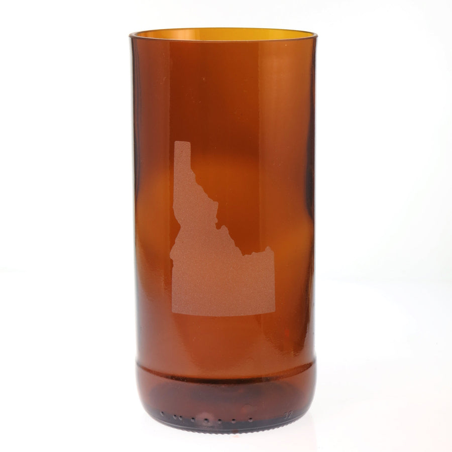 Brown Custom State Glass - Tall