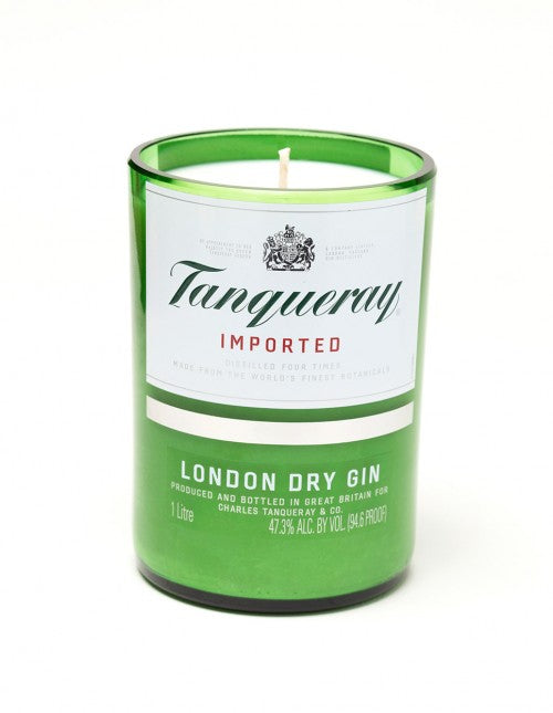 Tanqueray Liquor Bottle Candle