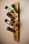 Banded 16 Bottle Wall Wine Rack