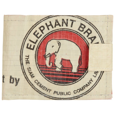 Elephant Branded Cement Bag Wallet
