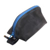Recycled Rubber Wedge Pouch - Blue