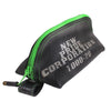 Recycled Rubber Wedge Pouch - Green
