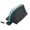 Recycled Rubber Wedge Pouch - Turquoise