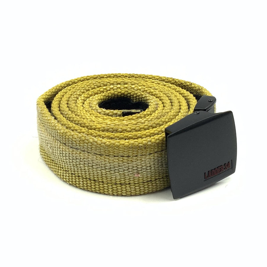 Reclaimed Fire Hose Yellow Belt