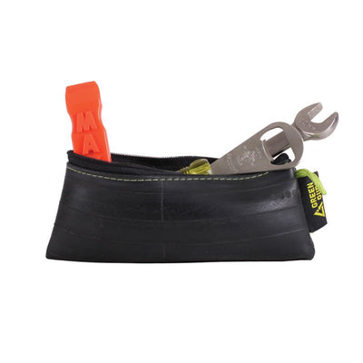Recycled Rubber Pouch - Medium