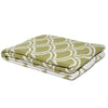 Eco Reversible Fish Scale Throw Blanket (Pistachio/Milk)