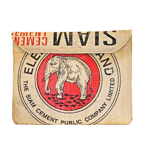 Elephant Branded Recycled iPad Case