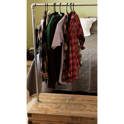 Reclaimed Wood Clothes Rack