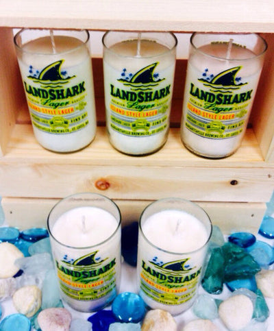 Landshark Beer Bottle Candles