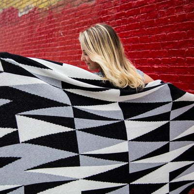 Eco Right Angles Throw Blanket