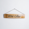 Wine Cellar Sign on Barrel Stave