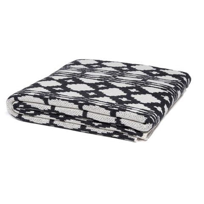 Eco Southwest Throw Blanket (Charcoal)