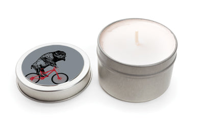 Buffalo Travel Candle