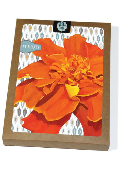 Marigolden Thanks Boxed Cards