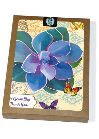 Purple Von Nurnberh Boxed Cards