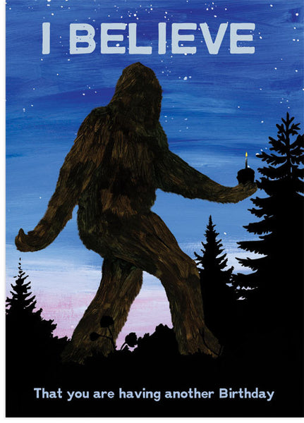 Squatchy Birthday