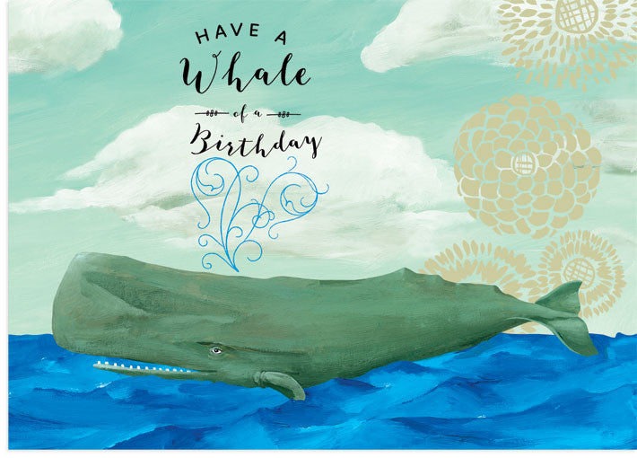 Whale Birthday