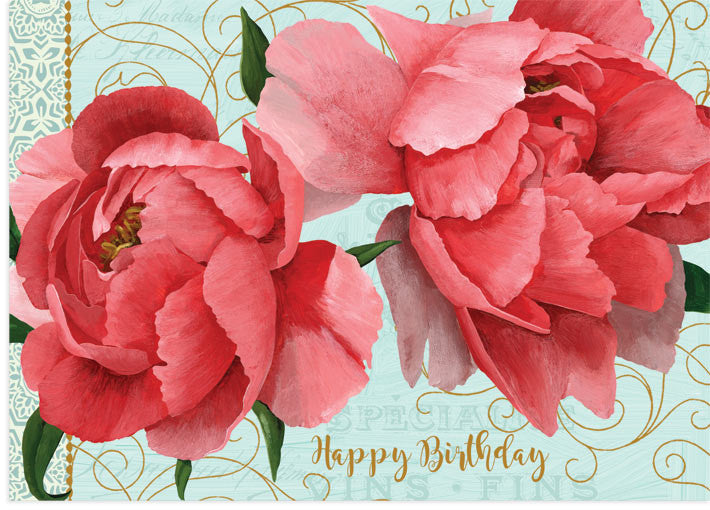 Peonie Pair Birthday