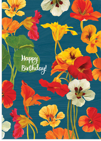 Birthday Nasturtiums