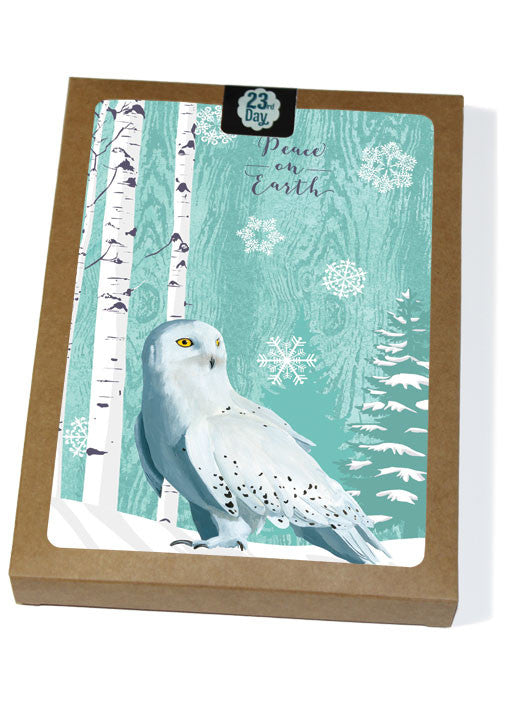 Snowy Owl Boxed Cards
