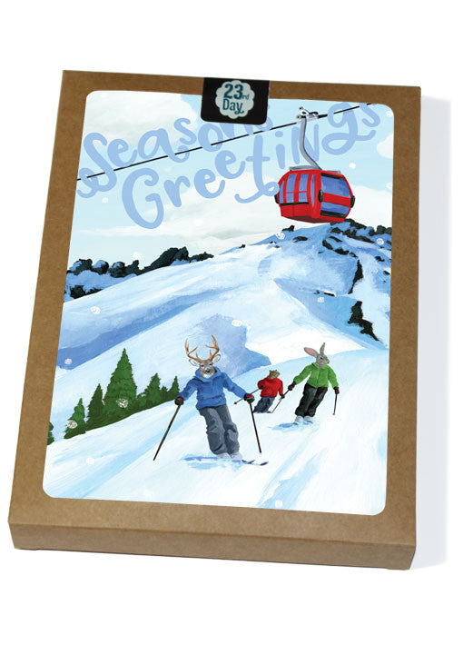 Ski Holiday Boxed Cards