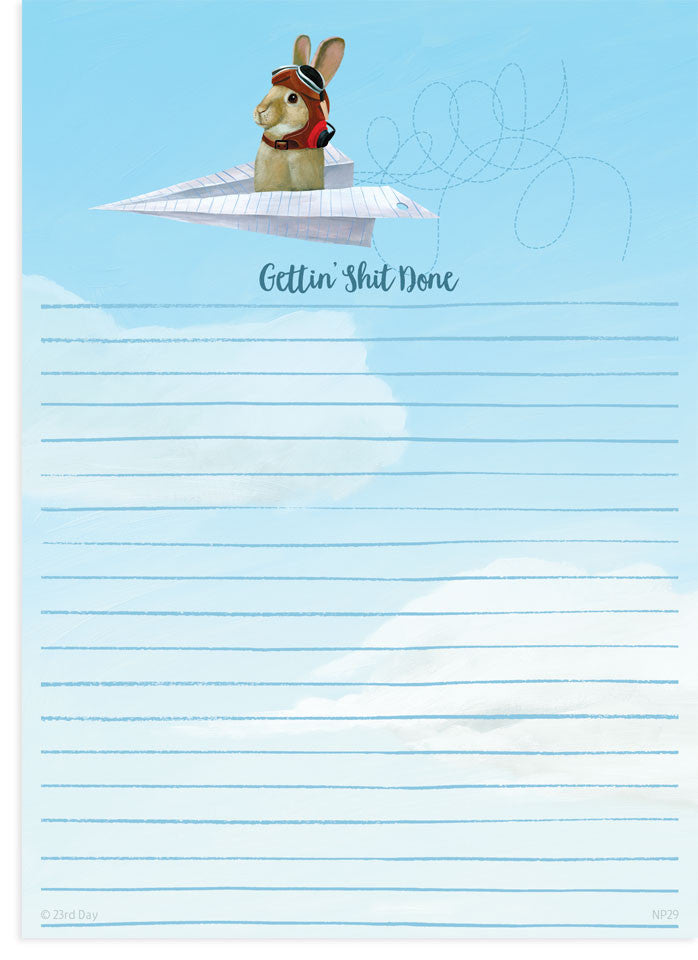 Air Bunny Notepad