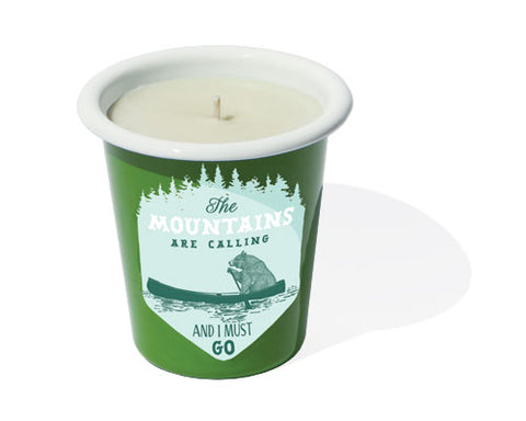 Paddle Bear Soy Candle