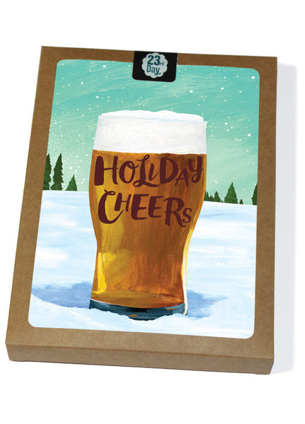 Beer Cheer Boxed Holiday Cards