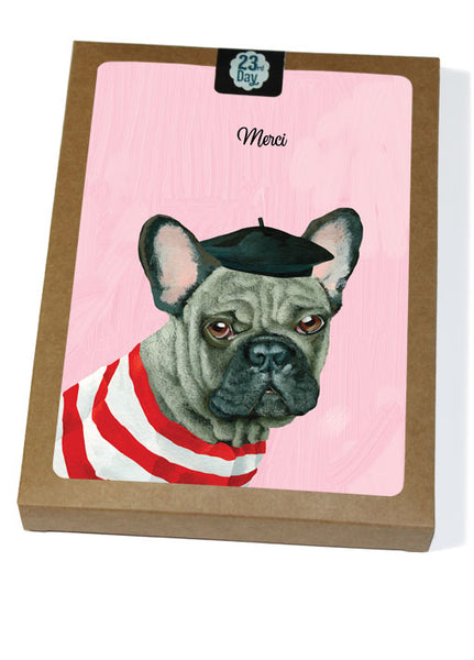 French Bulldog Boxed Cards