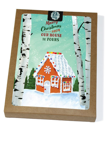 Gingerbread House Boxed Cards