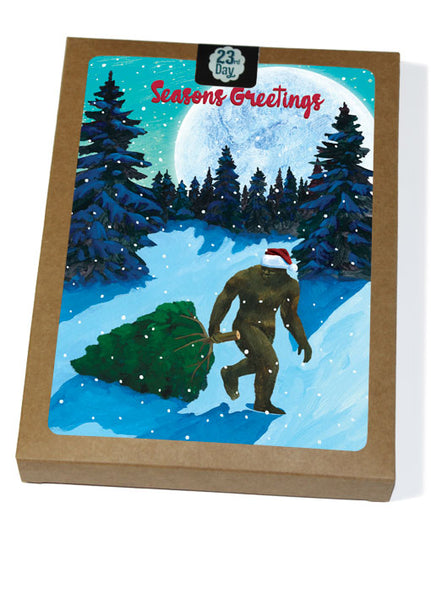 Sasquatch Christmas  Boxed