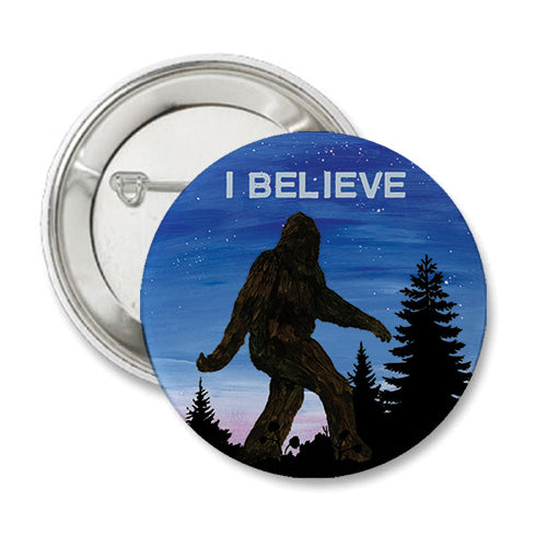 Sasquatch Round Button
