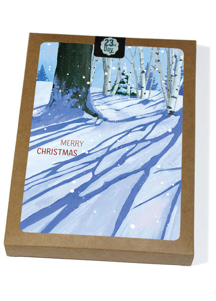 Winter Shadows Boxed Holiday Cards