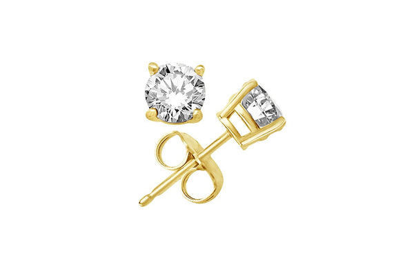 CZ Stud earrings | gold