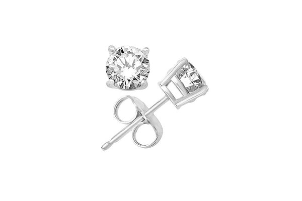 CZ Stud earrings | silver