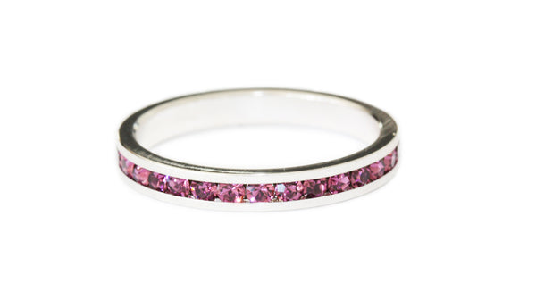 Purple stacking ring