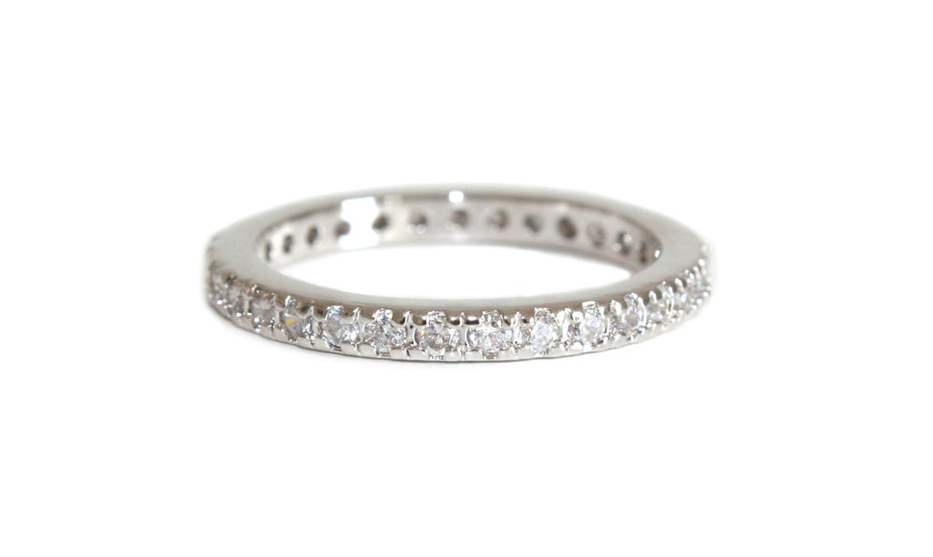 ring lixin full detail rings eternity stone band cz bands product silver china