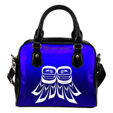 Feathered Raven Wing Handbag