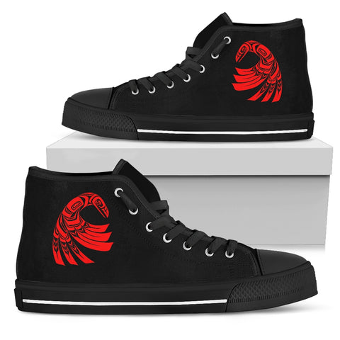 Raven Women's High Top Canvas Shoe