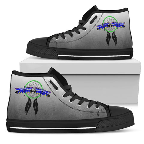 Dragonfly Dreamcatcher Women's High Tops