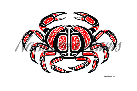 Dungeness Crab - Northern Dreams Clothing by Chelleen