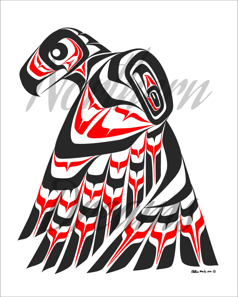 Guardian Eagle - Northern Dreams Clothing by Chelleen