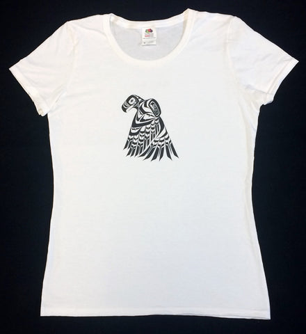 Eagle Women's White T-Shirt